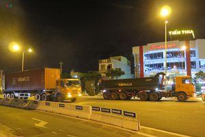 Đà Nẵng: Tai nạn rình rập trước bánh xe container