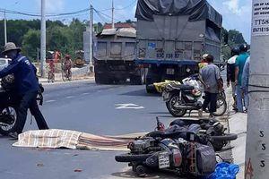 Va chạm với xe máy, một phụ nữ người Ba Lan bị xe tải tông thiệt mạng ở Quảng Nam