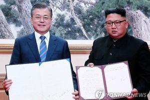Nội dung chính trong 'Tuyên bố chung tháng 9' của hội nghị thượng đỉnh liên Triều