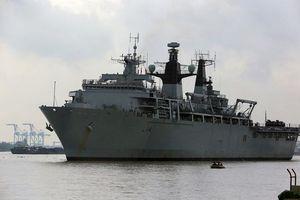 Việt Nam lên tiếng về chuyến thăm của tàu đổ bộ Anh