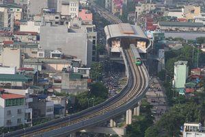 Ảnh, clip: Đường sắt Cát Linh - Hà Đông chính thức chạy thử 5 tàu