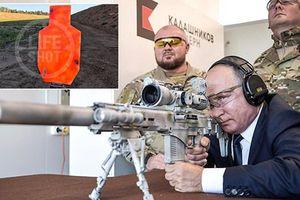 Súng bắn tỉa Tổng thống Putin vừa bắn thử có gì đặc biệt?