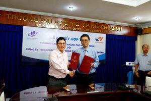 Trường ĐH Mở TPHCM ký kết hợp tác mở rộng cơ hội việc làm cho sinh viên