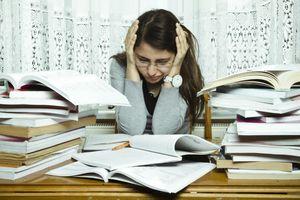 Hậu quả từ việc lo lắng quá mức về học tập