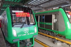 Chạy thử toàn tuyến đường sắt Cát Linh - Hà Đông: Dự kiến vận hành trước Tết Âm lịch 2019