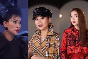 Video The Face 2018: Thanh Hằng 'cảnh cáo' Võ Hoàng Yến 'nên biết điều'