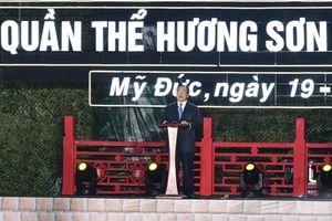 Hà Nội: Chùa Hương đón nhận Bằng xếp hạng di tích Quốc gia đặc biệt