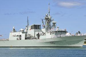 Hải quân Hoàng gia Canada diễn tập với Hải quân Việt Nam