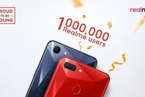 Realme đạt 1 triệu điện thoại bán ra
