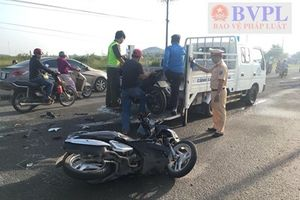 Thầy giáo kiêm trợ lý trọng tài bóng đá tử vong sau va chạm xe máy