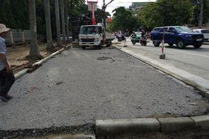 UBND Tp.Vinh nói gì về Dự án xén vỉa hè để làm điểm đỗ xe?