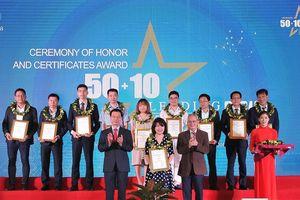 Tiên phong trong chuyển đổi số, FPT được vinh danh trong top 10 doanh nghiệp có năng lực công nghệ 4.0 tiêu biểu