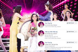 Mạo danh tân Hoa hậu Việt Nam Trần Tiểu Vy trên Facebook có thể bị phạt tù tới 7 năm