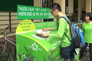 Thu gom rác điện tử – cách làm tiết kiệm tài nguyên thiên nhiên