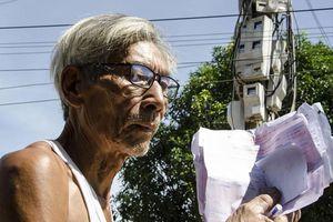 Quảng Ngãi: Cả làng nháo nhác vì tiền điện