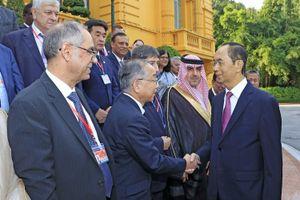 Chủ tịch nước Trần Đại Quang tiếp các Trưởng đoàn tham dự Đại hội ASOSAI 14