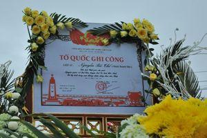 Bắc Giang: Tổ chức lễ rước hài cốt và truy điệu liệt sĩ Nguyễn Bá Thế - Giác Linh Thích Thanh Tân tại chùa Vĩnh Nghiêm