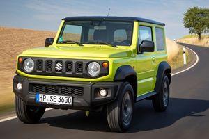 Suzuki Jimny 2018 sắp về Việt Nam gây thất vọng vì thiếu an toàn