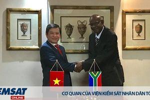 Đoàn công tác VKSND tối cao thăm và làm việc tại Cộng hòa Nam Phi