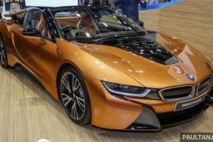 BMW i8 Roadster được bán tại Malaysia với giá hơn 8 tỉ đồng
