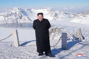 Lãnh đạo Hàn-Triều có chuyến thăm lịch sử lên núi thiêng Paekdu