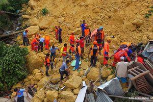 Philippines: Lở đất chôn vùi hơn 20 ngôi nhà, hàng chục người bị mắc kẹt