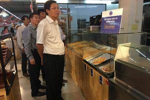 Đình chỉ hoạt động khu vực sản xuất thức ăn nhanh của siêu thị Lan Chi