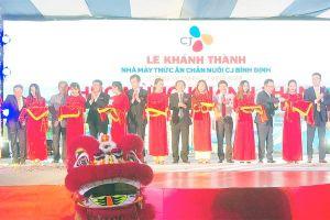 CJ mở nhà máy thức ăn chăn nuôi ở Bình Định