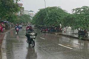 Bắc Bộ, Bắc Trung Bộ mưa rào rải rác