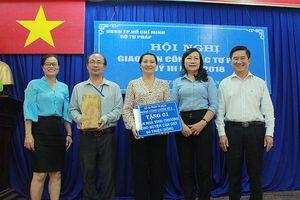Sở Tư pháp TP.HCM trao nhà tình thương cho huyện Cần Giờ