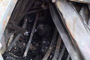 Phát hiện vật nghi là xương người ở nhà trọ ông Hiệp 'Khùng'