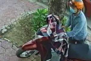 Truy tìm cặp đôi trộm xe SH ở quán cà phê