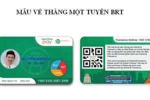 Từ ngày 1/10, Hà Nội thí điểm vé xe buýt điện tử