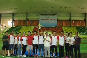 Giải thể thao Công đoàn Bộ VHTTDL năm 2018