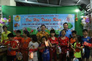 LĐLĐ quận Bình Thủy: Tổ chức 'Đêm hội trăng rằm' cho các thiếu nhi hoàn cảnh khó khăn