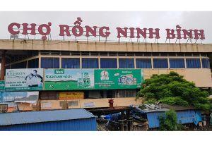 Sai phạm tại BQL chợ Rồng (Ninh Bình): Không thể kỷ luật, nghỉ việc là... xong