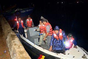 Tàu cá cháy trên biển, 2 ngư dân Quảng Ngãi thoát chết