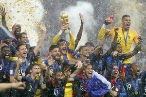 Pháp và Bỉ cùng đứng số 1 thế giới trên bảng xếp hạng FIFA