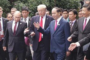 Dấu ấn Chủ tịch nước Trần Đại Quang tại Hội nghị thượng đỉnh APEC
