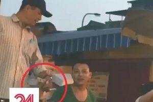 Clip: Tận thấy hoạt động bảo kê ở chợ Long Biên
