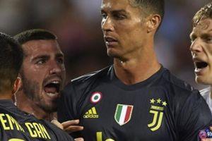 Nếu điều này xảy ra, Ronaldo sẽ thoát thẻ đỏ tại Champions League