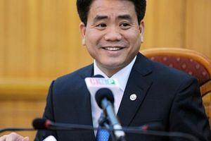 Chủ tịch Hà Nội Nguyễn Đức Chung bổ nhiệm 5 lãnh đạo sở