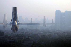 Tháp lọc không khí khổng lồ ở New Delhi