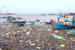 Sông Cà Ty chảy qua thành phố biển thơ mộng bị ô nhiễm nghiêm trọng