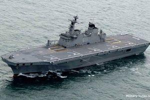 Lớp tàu đổ bộ trực thăng mang dáng dấp tàu sân bay của Hàn Quốc