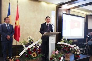 Chiêu đãi trọng thể dịp Quốc khánh 73 năm Việt Nam tại Romania