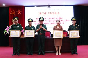 Sơn La: 2 tập thể, 5 cá nhân được Bộ Tư lệnh BĐBP tặng Bằng khen trong thực hiện Ngày Biên phòng toàn dân giai đoạn 2009 – 2019