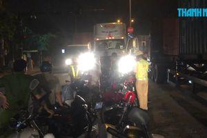 Tài xế xe container đâm chết người đi xe máy trước cảng Cát Lái
