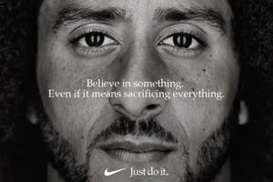 Quảng cáo càng gây tranh cãi, Nike càng bán chạy