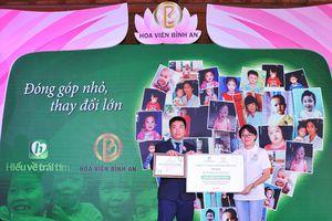 Hoa Viên Bình An hợp tác với quỹ Hiểu về Trái tim